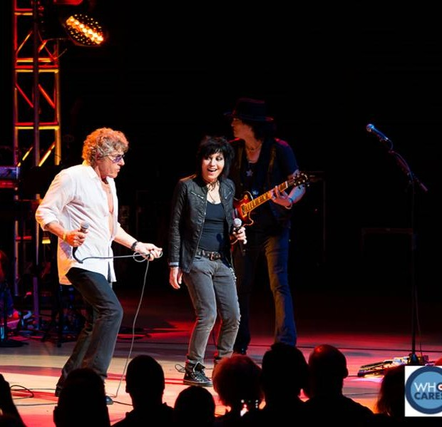 Performance by The Who frontman, Roger Daltrey and rock legend Joan Jett at the Teen Cancer America event