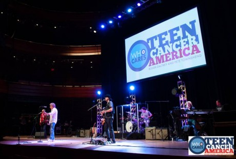 Performance by The Who frontman, Roger Daltrey at the Teen Cancer America event