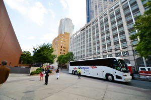 Bus transportation to event in Charlotte, NC