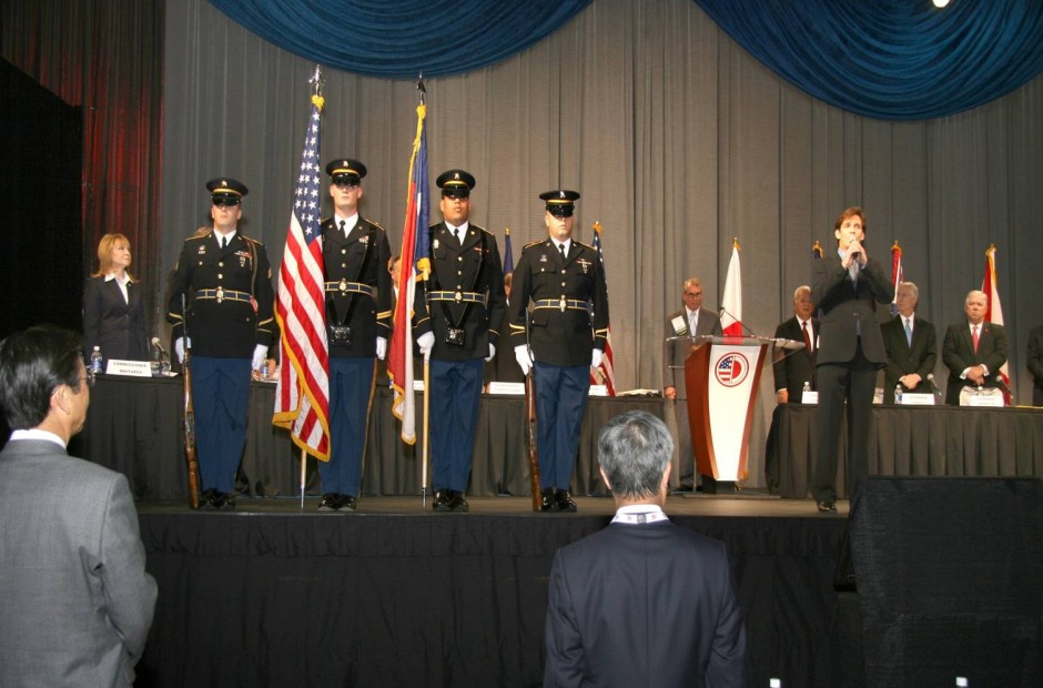 Performance of The Star Spangled Banner at the South East Asia/Southern United States 32nd Annual Conference
