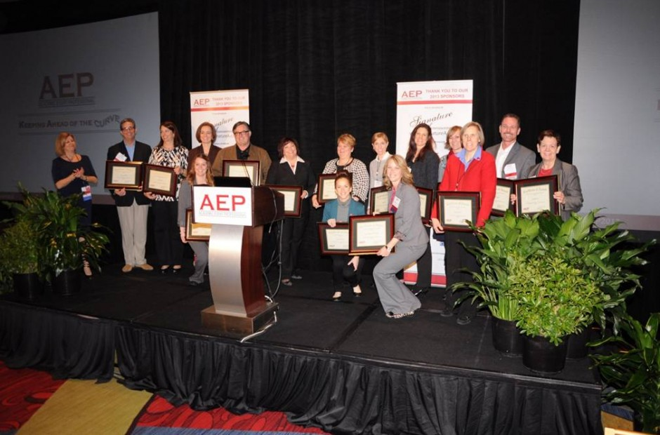 Group photo at AEP conference