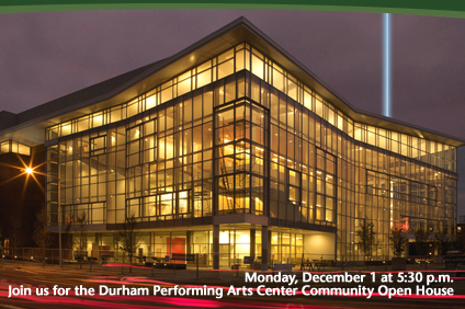 Announcement for the DPAC Community Open House