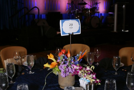 Make-A-Wish Ball table setting