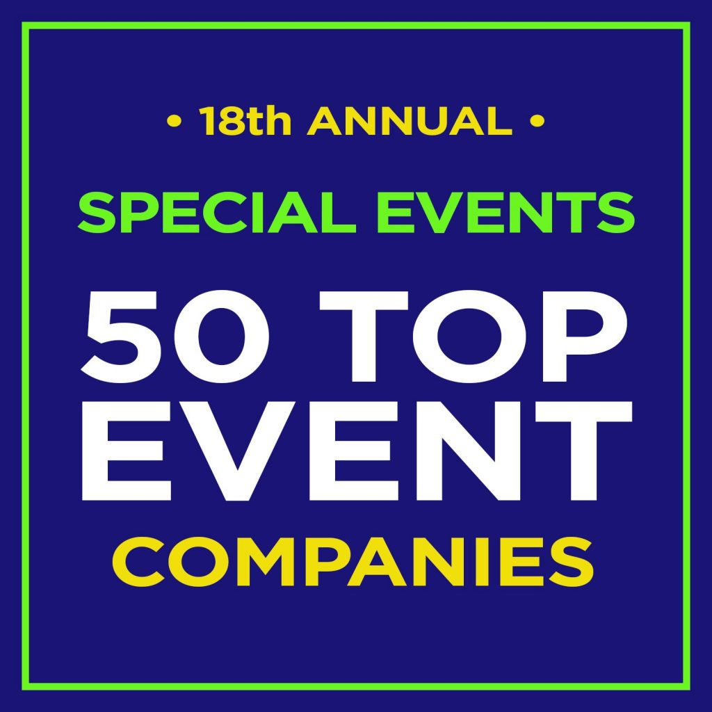 The Special Event Company Named Top 50 Event Company for